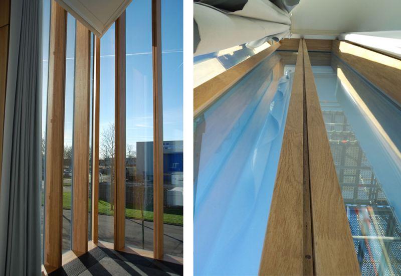 arquitectura accoya madera estructural fachada proyecto Herzog De Meuron Astrazeneca mockup 1