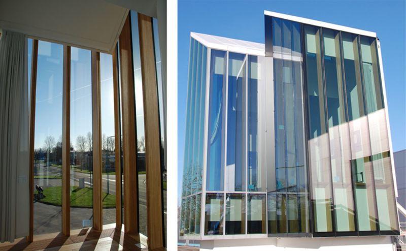 arquitectura accoya madera estructural fachada proyecto Herzog De Meuron Astrazeneca mockup 2