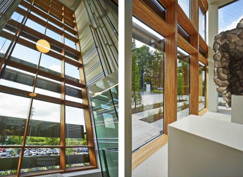 arquitectura accoya madera estructural fachada proyecto jim clemes sede enovos