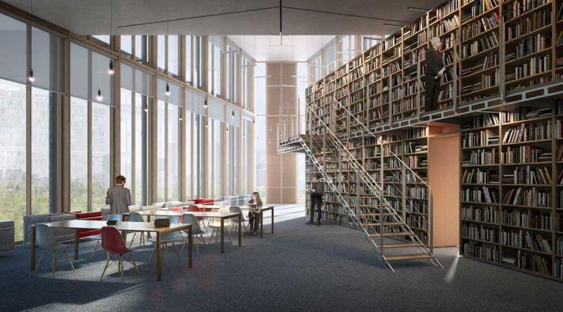 arquitectura accoya madera estructural fachada proyecto renzo piano maison avocats biblioteca