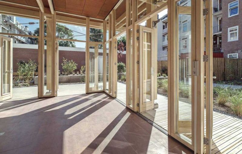 arquitectura accoya madera estructural fachada proyecto fagelcats amsterdam 2