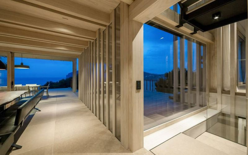 arquitectura accoya madera estructural fachada proyecto casa prunera alejandro palomino salon