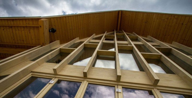 arquitectura accoya madera estructural fachada proyecto accoya