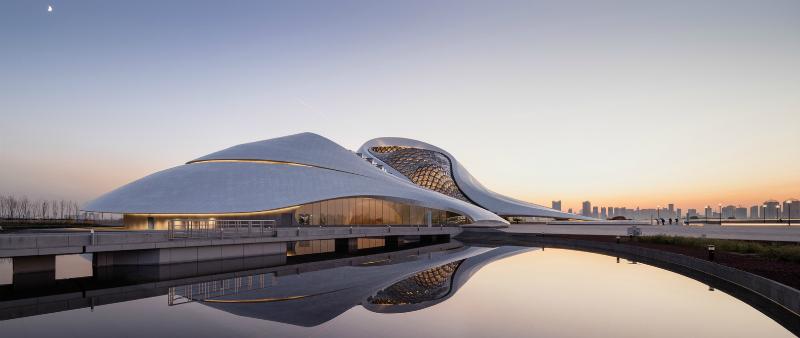 arquitectura, arquitecto, diseño, design, grandes despachos, China, Pequín, MAD Architects, Adam Mørk, Opera Harbin, Harbin Opera House, internacional, gra superficie, diseño orgánico