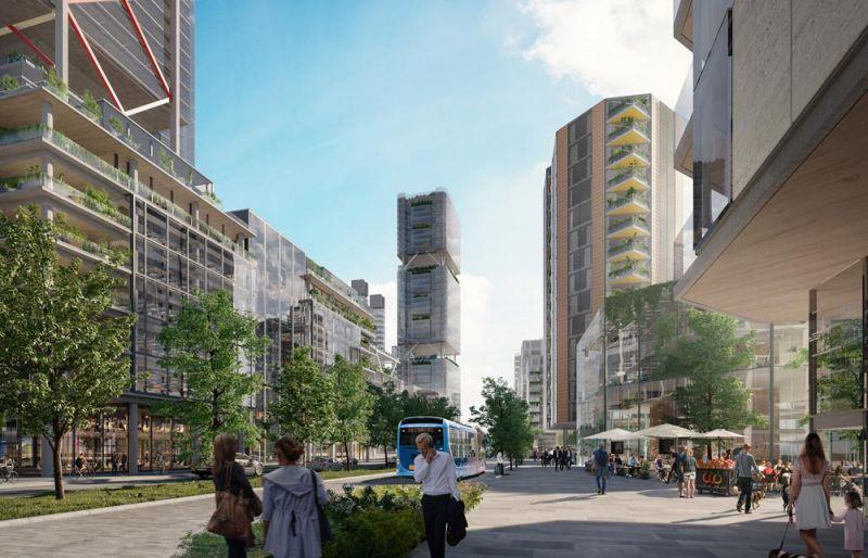 arquitectura Nuevo Madrid Norte plan urbanístico