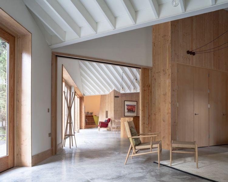 arquitectura_Maggie's center_núcleos interiores