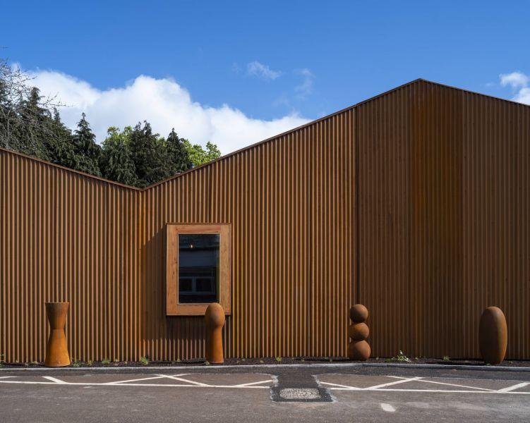 arquitectura_Maggie's center_fachada