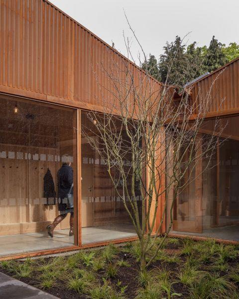 arquitectura_Maggie's center_patio