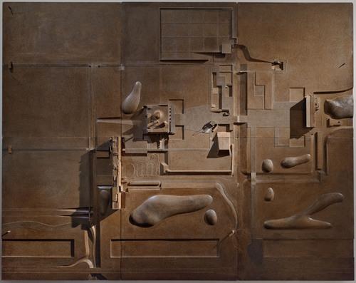 Maqueta de Chandigarh. Imagen: Fondation Le Corbusier