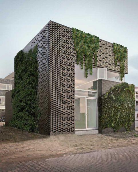arquitectura_marc koehler architects_house garden_fachada con vegetación
