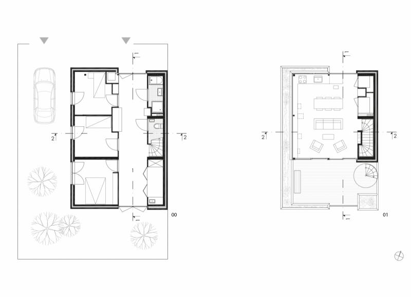 arquitectura_marc koehler architects_house garden_plantas