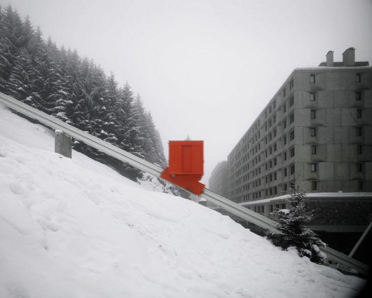 arquitectura Marcel Breuer Flaine fotografías Valentin Jeck exterior teleferico