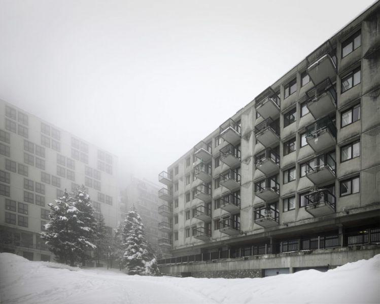 arquitectura Marcel Breuer Flaine fotografías Valentin Jeck exterior edificios