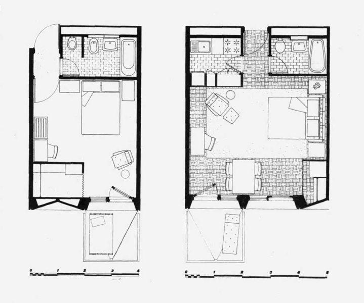 arquitectura Marcel Breuer Flainerevista informes de la contruccion plantas
