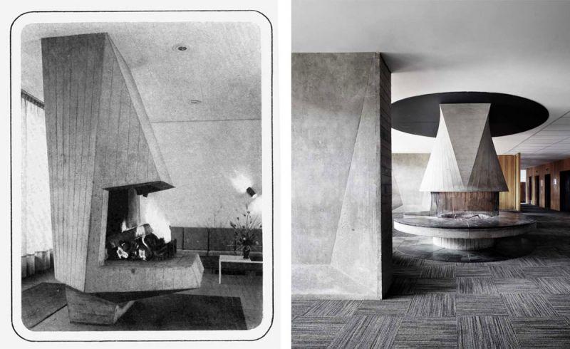arquitectura Marcel Breuer Flainerevista informes de la contruccion valentin jeck chimenea
