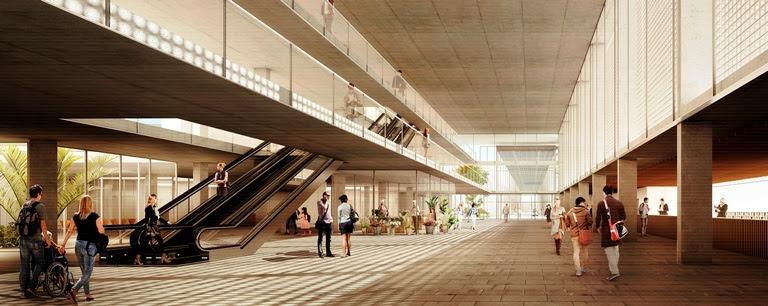 arquitectura mario corea hospital Entre Plazas