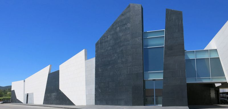 arquitectura Marta González Arquitectos Bodegas Paniza Foto  exterior