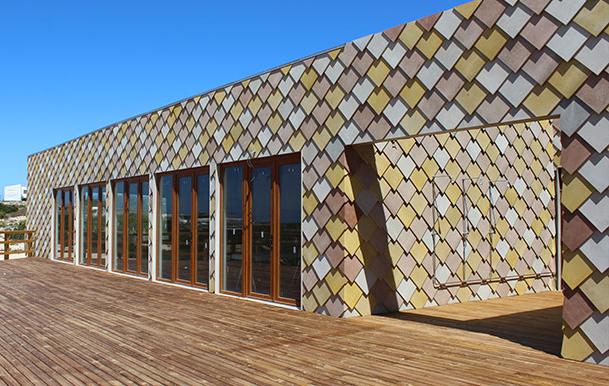 Arquitectura, materiales, viroc, panel