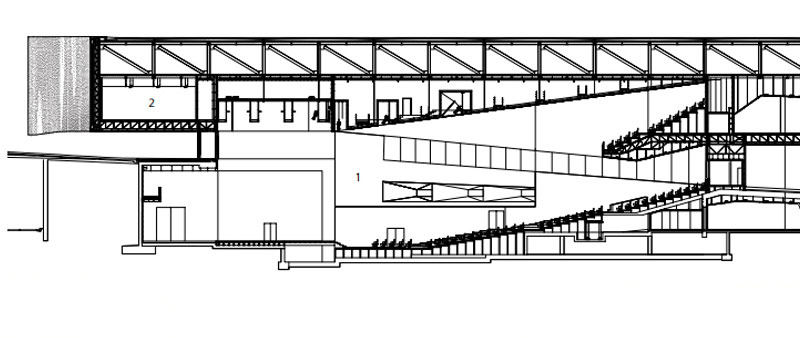 arquitectura, Herzog & Meuron, Barcelona, Museu Blau, edificio Fórum