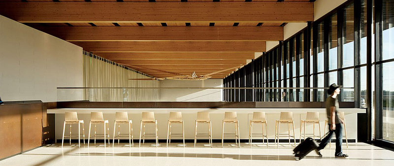 arquitectura, diseño, interiorismo, aeropuerto, Fort McMurray International Airport, McFarlane Biggar Architects + Designers