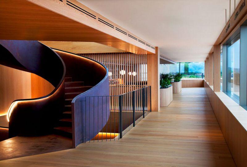 arquitectura hotel akelarre mecanismo hall