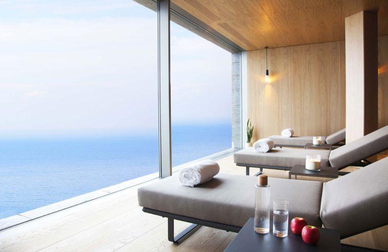 arquitectura hotel akelarre mecanismo wellness