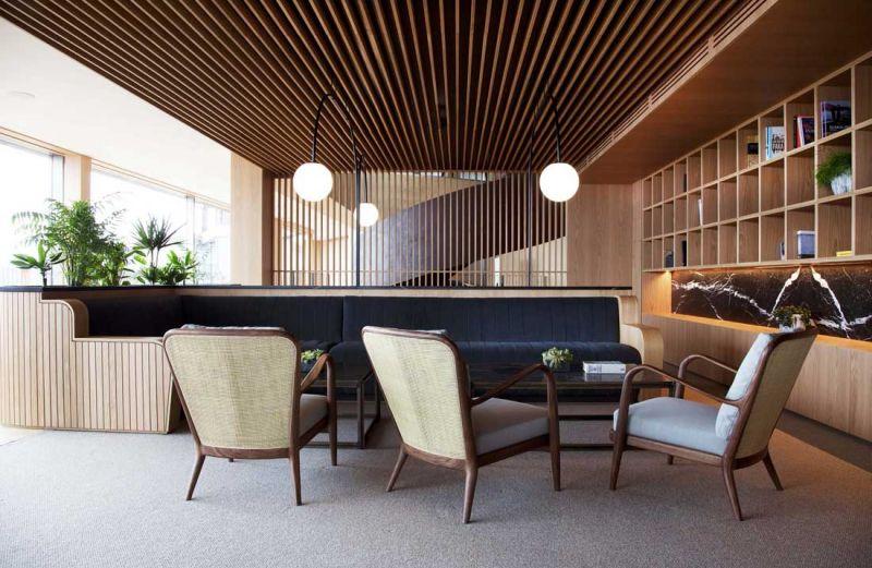 arquitectura hotel akelarre mecanismo cafeteria