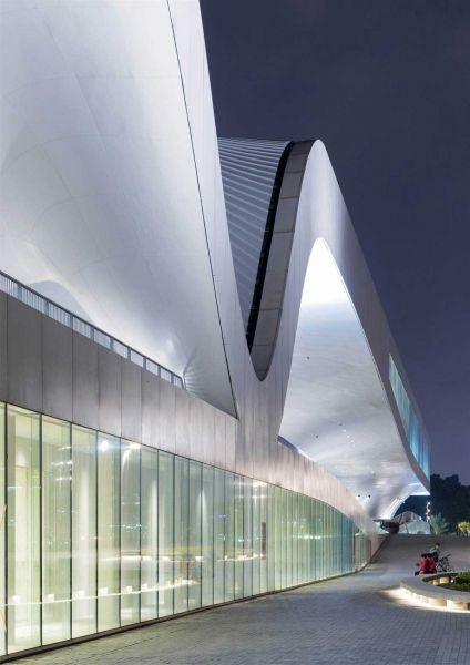 arquitectura mecanoo centro nacional arte kaohsiung fotografía iwan baan exterior