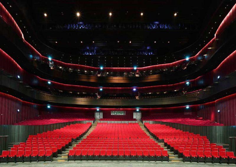 arquitectura mecanoo centro nacional arte kaohsiung fotografía iwan baan interior teatro