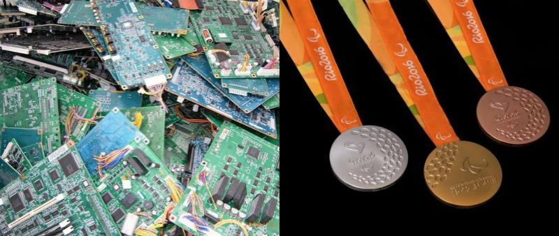 arquitectura, arquitecto, diseño, design, interiorismo, interior, medallas, olimpiadas, Juegos Olímpicos, JJ.OO., Tokio 2020, metal, oro, plata, bronce, reciclado, reciclaje, ecología, ecológico, Asian Review Nikkei