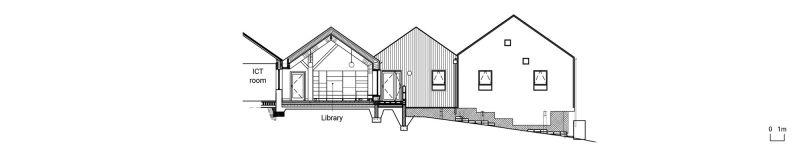 arquitectura_mellor primary school_alzado