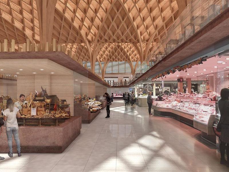 Arquitectura_mercado-municipal-temuco-rehabilitación_imagen  estructura 3d madera