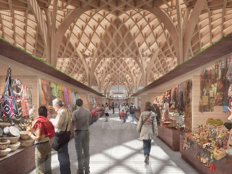 Arquitectura_mercado-municipal-temuco-rehabilitacio_imagen interior 3d