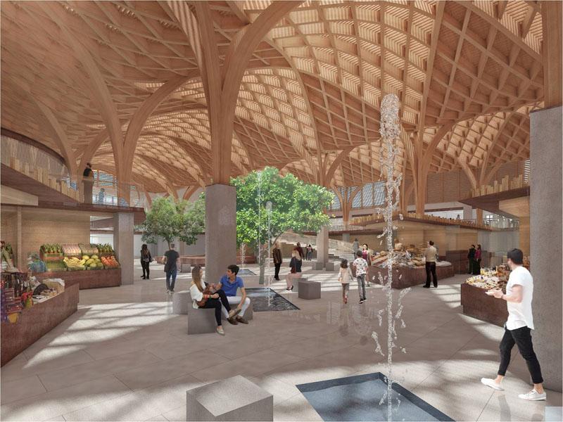 Arquitectura_mercado-municipal-temuco-rehabilitación_imagen interior 3d