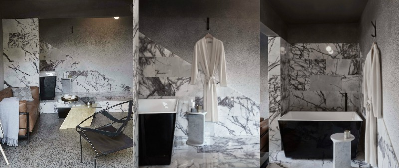 arquitectura, arquitecto, diseño, design, interior, interiorismo, Micro Luxe, Edwards Moore Architects, Australia, Melbourne, Fotografo Fraser Marsden, apartamento, alquiler, Airbnb, venta, showroom