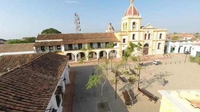 Mompox- vista desde arriba plaza