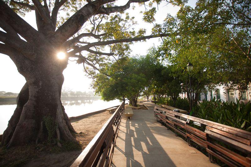 mompox_ paseo por el rio rehabilitado
