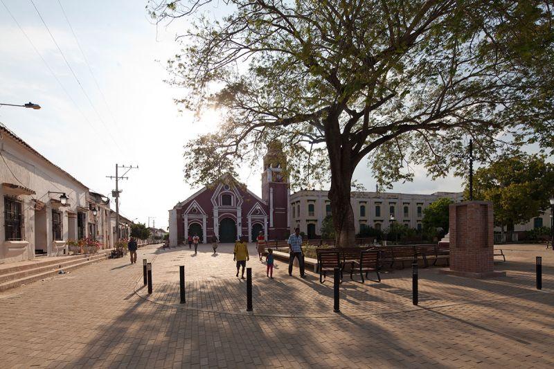 Mompox_ plaza de san francisco