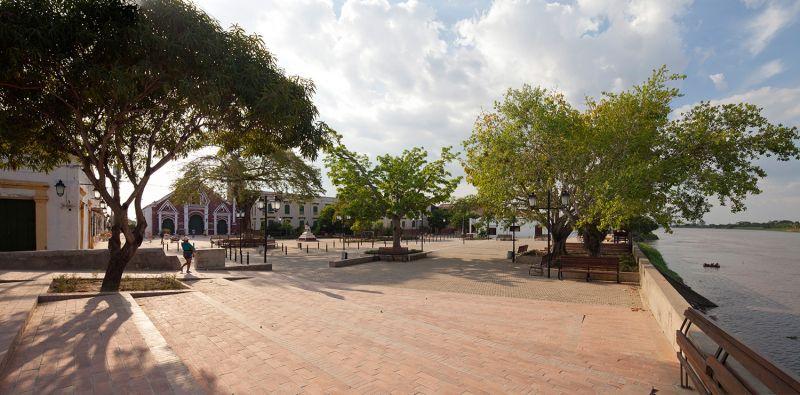 Mompox_ vistas desde plaza de san francisco