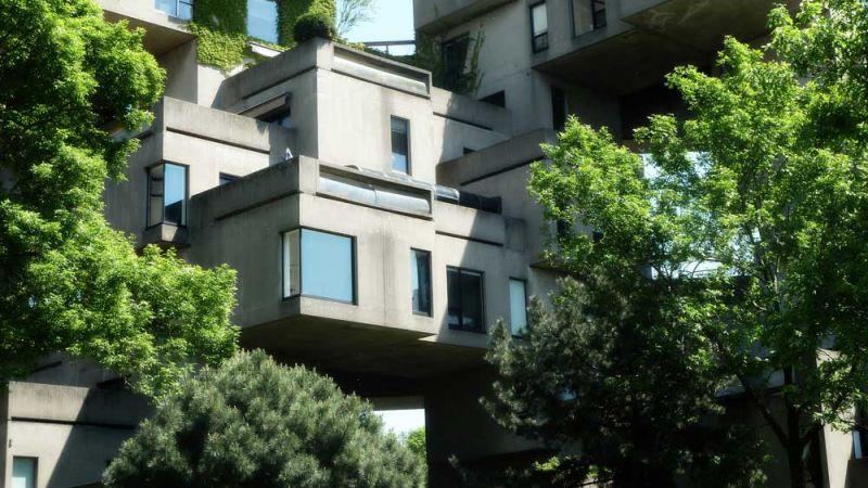 arquitectura safdie architechs habitat 67 fotografia terrazas
