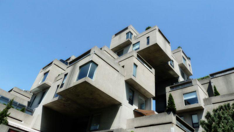 arquitectura safdie architechs habitat 67 fotografia