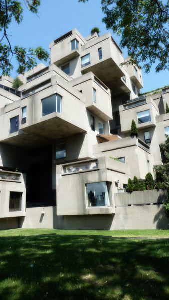 arquitectura safdie architechs habitat 67 fotografia exterior conjunto