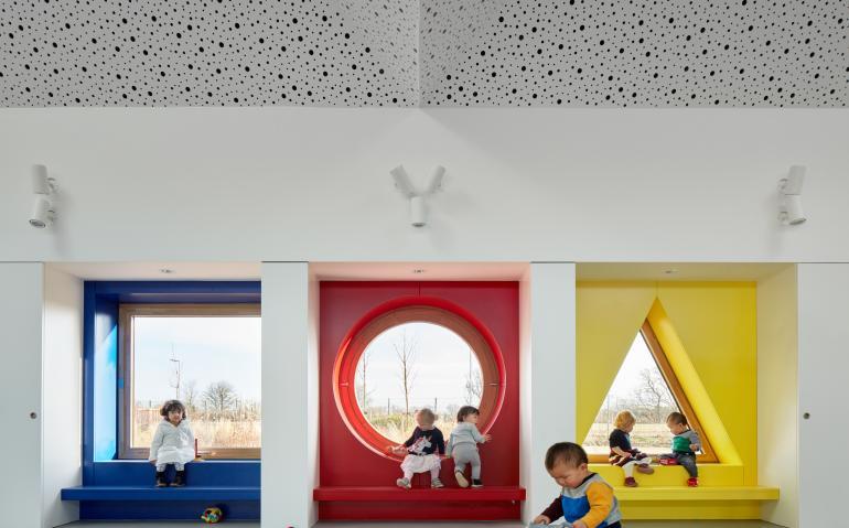 arquitectura_muma_guardería_FACHADA AULAS