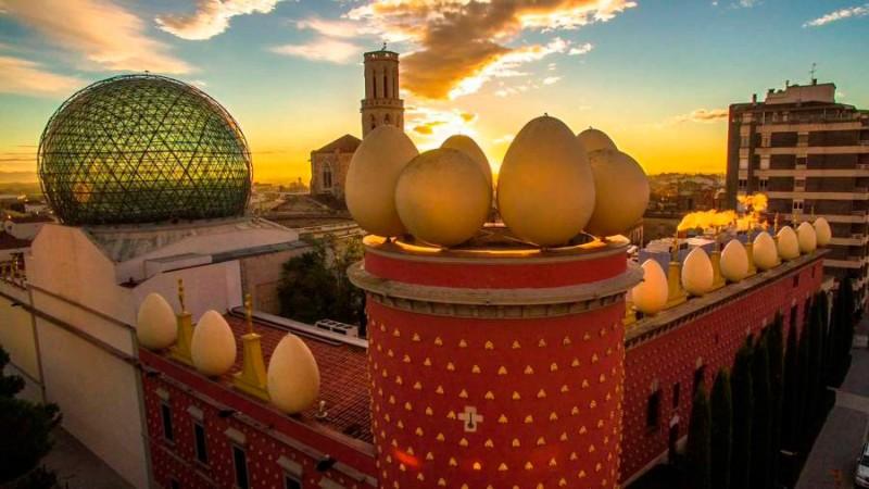 Teatro-Museo Dalí en Figueres
