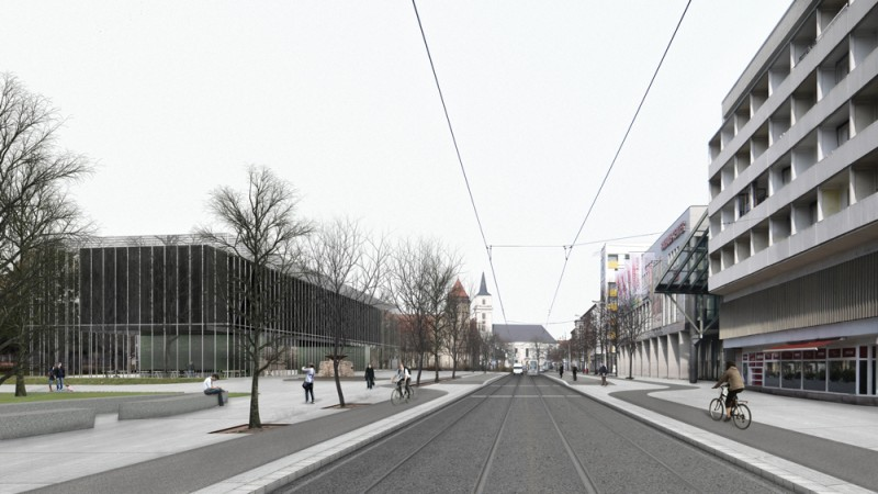 Arquitectura Museo de la Bauhaus_Addenda Architects_escala urbana