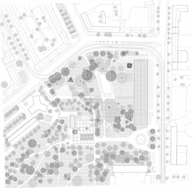 Arquitectura Museo de la Bauhaus_Addenda Architects_plano situación
