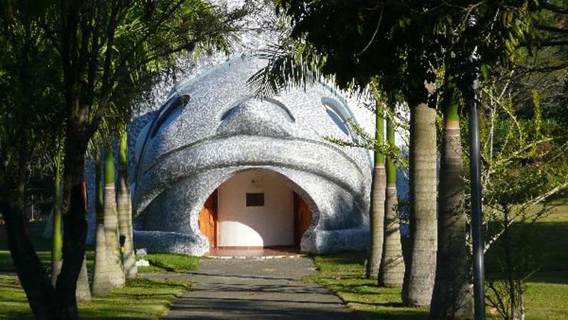 Arquitectura_Museo Del Cemi_Puero Rico_puerta acceso