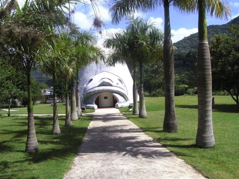 Arquitectura_Museo Del Cemi_Puero Rico_acceso al edificio