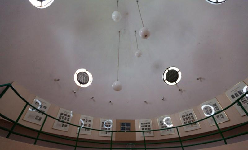 Arquitectura_Museo Del Cemi_Puero Rico imagen interior cubierta