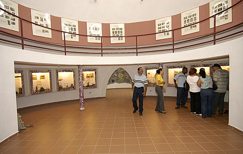 Arquitectura_Museo Del Cemi_Puero Rico _interior p.baja